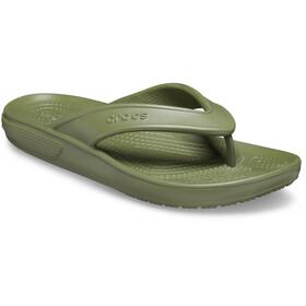 Crocs Classic II Sandalias de Piel, verde
